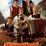 Eintritt beim Heimatland Quintett 1990 Hansi, Sepp, Ronny, Adi und Franzi