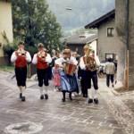 """Erster """"Hochzeitszug"""" in Pfarrwerfen 1988"""