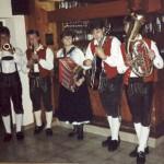 Erster Auftritt beim Dichtlwirt 1988