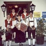 Mit meinen ersten Schul- u. Musikkollegen Simon, Andreas, Stefan und Tanja