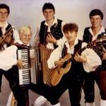 """Gründung """"Heimatland Quintett"""" 1984"""