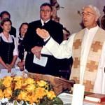 … als Kirchenchorleiter