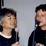 Ein Duett mit Stardirigenten Seiji Ozawa 1998 in Japan